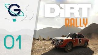 Dirt Rally : Je me traine en Grèce | Carrière #01 FR