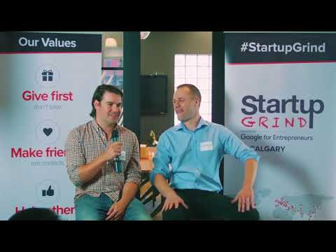 Startup Grind Calgary   Local Startup   Andrew Browne of TikTiks   September 06, 2017