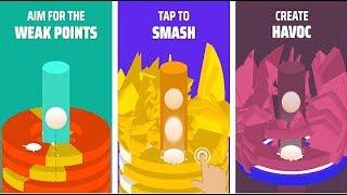Hoop Smash Android Gameplay HD (By Kwalee Ltd) Video