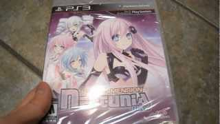 Unboxing Hyperdimension Neptunia MK2 NIS America Sony Playstation 3 PS3 MOST RARE GAME!