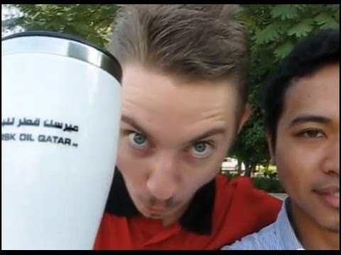 Morning Qatar with Russian dude
