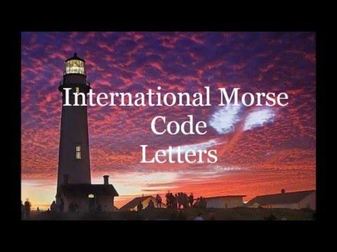 International Morse Code (Letters)