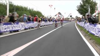 Philippe Gilbert wins 2012 UCI Road World Championships in Valkenburg ad Geul Netherlands