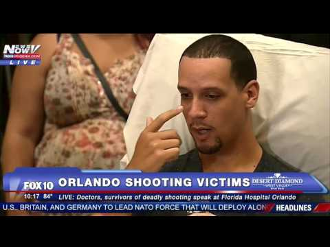 FULL PRESS CONFERENCE: Two Orlando Shooting Victims Speak Out About Deadly Attack - FNN