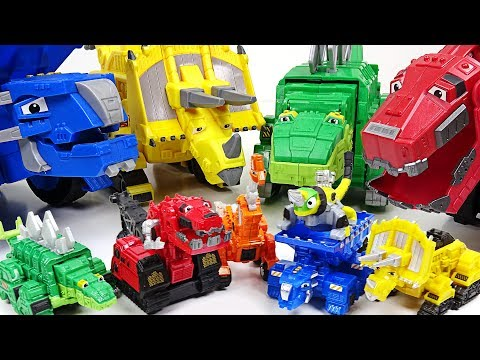 Thumbnail: Dinotrux has tiny friends. Mini Dinotrux appeared!! - DuDuPopTOY