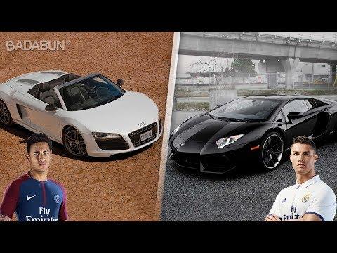 Mira el increíble auto de estos 9 futbolistas