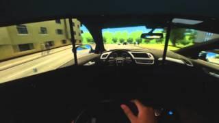 Car Driving Simulator(Eyefinity)SImulador de direção PC