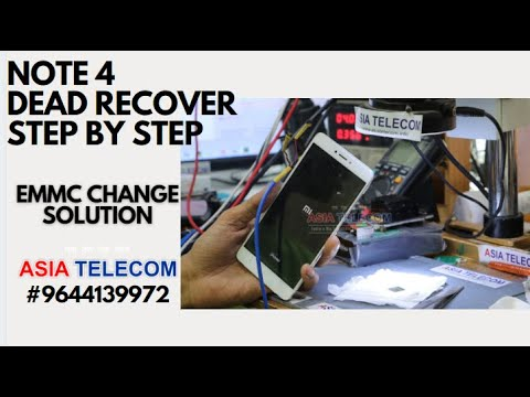 Redmi Note 4 Dead Recover - Step by Step ( Final Solution - EMMC Change ) #Asiatelecom #Join Now