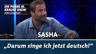 Sashas erste Songs waren auf deutsch!