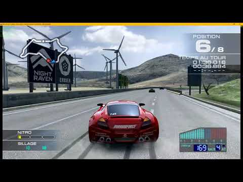 Rpcs3 VK - Ridge Racer 7 - Improve render - Gameplay 30/60 fps Free