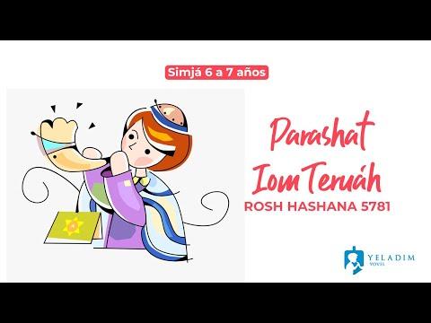 Parasha #IomTeruah #RoshHashana para Niños  - (6 a 7 años)