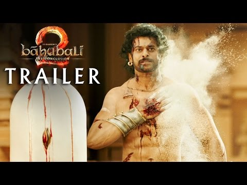 Bāhubali 2: The Conclusion trailers