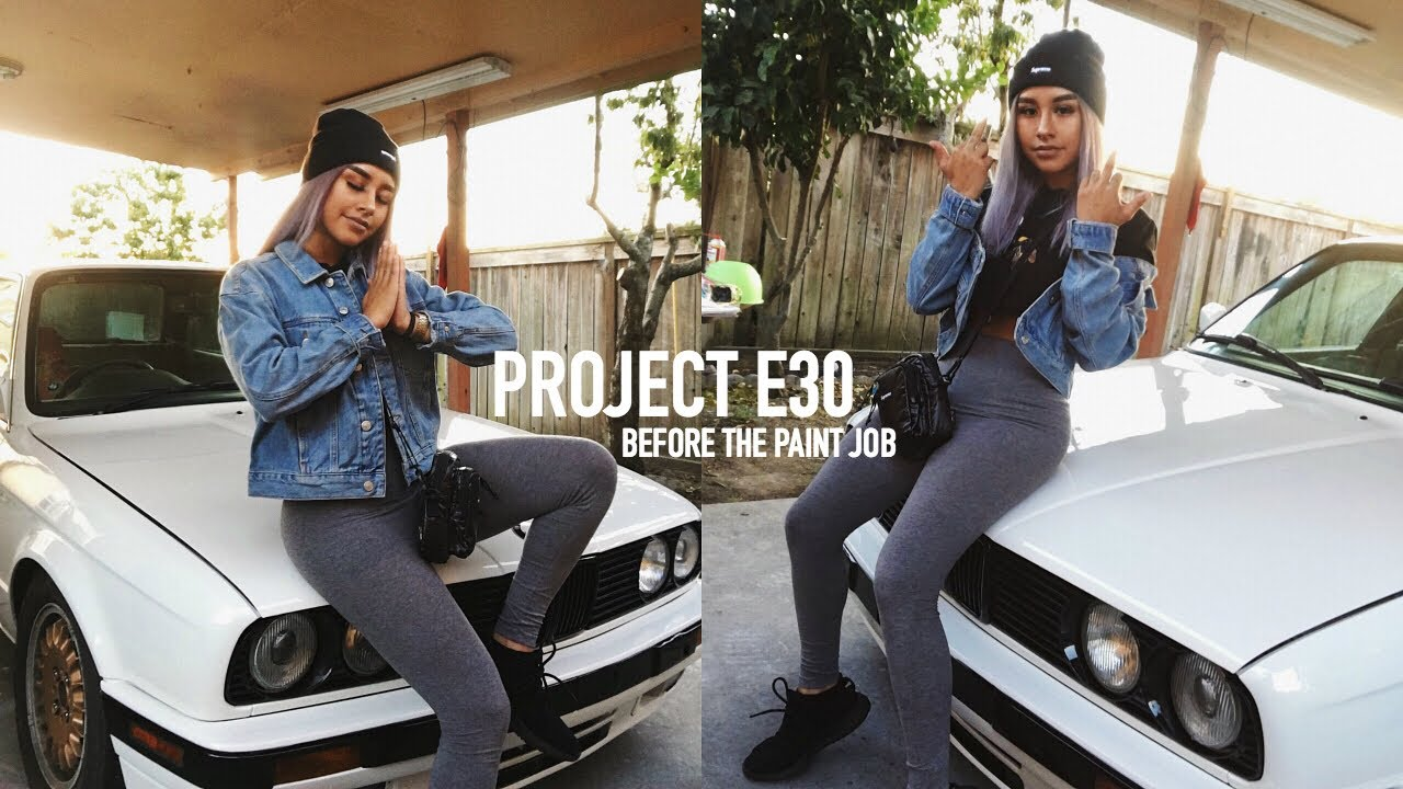 Project E30 Unboxing The Is Lip Before The Paint Job Youtube