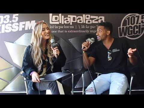 The Buzz - Lennon Stella Chats with JRDN at Lollapalooza