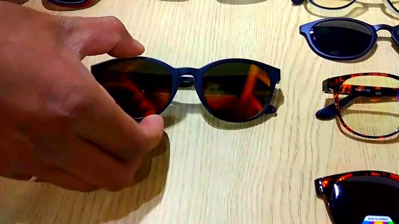 6839cee4d81 Clip on magentic prescription glasses - YouTube