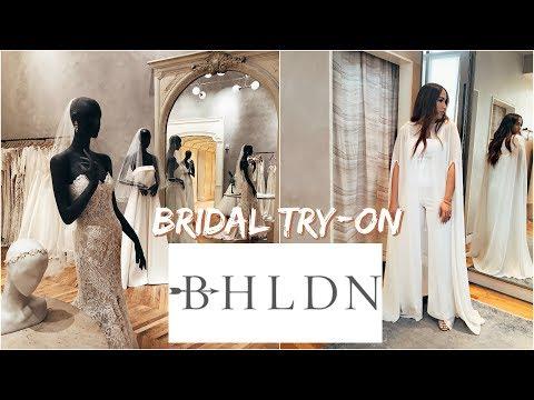 BHLDN WEDDING DRESS TRY-ON 💍 Wedding Series