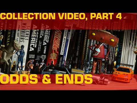 Collection Video 4: Sideshow Avengers Assemble, Graphic Novels, and Assorted Knick-knacks
