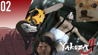 MarioInATopHat: Yakuza 4 (Getting Weird With It) [Part Two] Medium (360p)