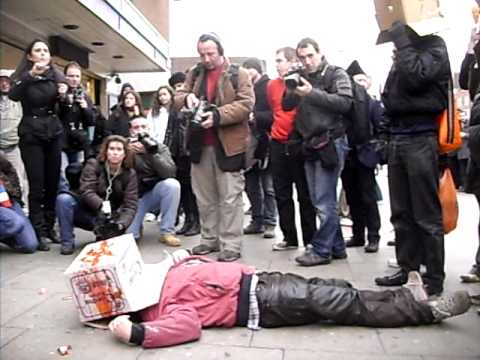 Mark McGowan - The Re-enactment of the Murder of Jean ...