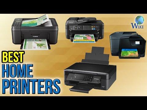 8 Best Home Printers 2017