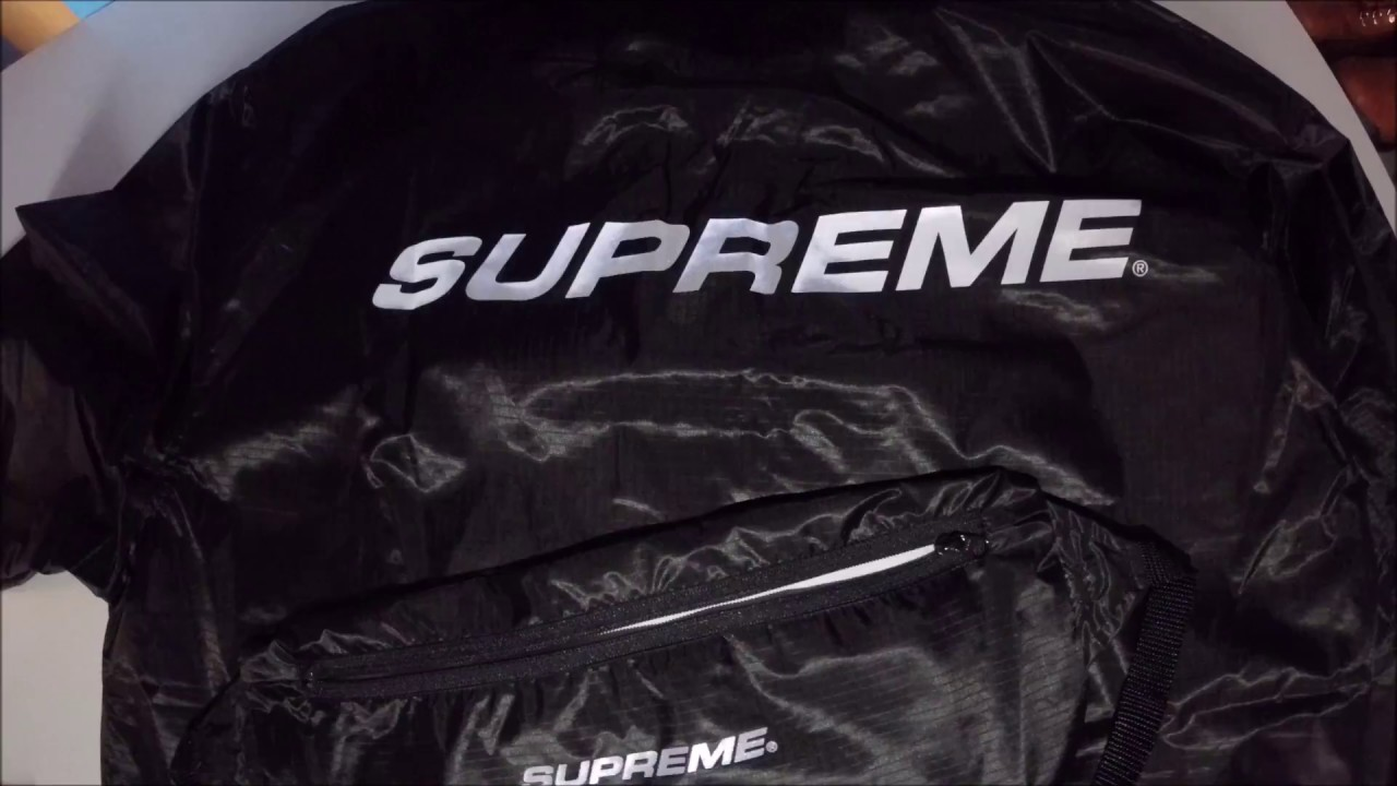 8fd4ef510f60 Supreme Packable Ripstop pullover Unboxing + Review + Qualitytest ...