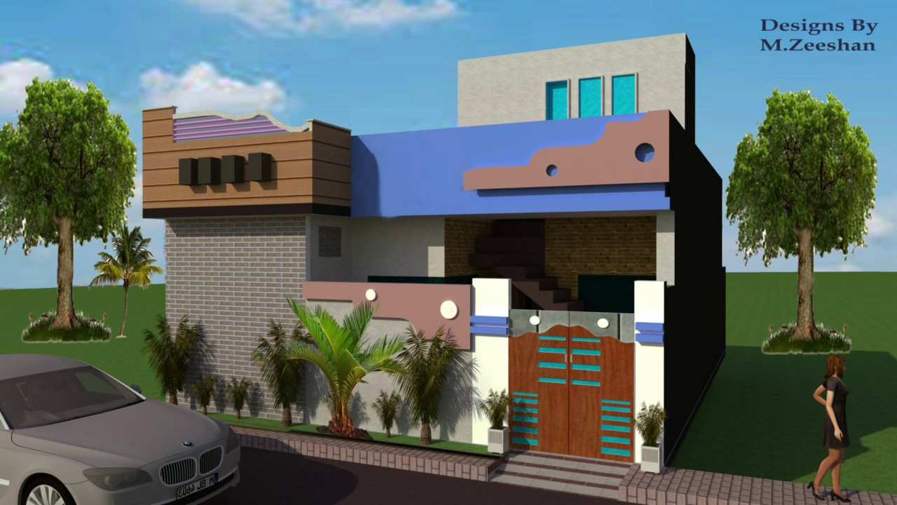 4 Marla House Design Ll Beautiful House Map Ll 3d 2d Plan New Project 2019