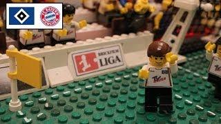 Hamburger SV vs. Bayern München (Bundesliga 2000/01 Final Spiel) in LEGO