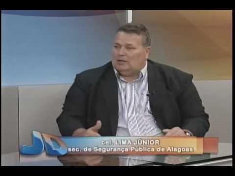 Entrevista com cel. Lima Júnior - sec.  de Segurança Pública de Alagoas