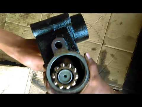 working of recirculating type steering gearbox