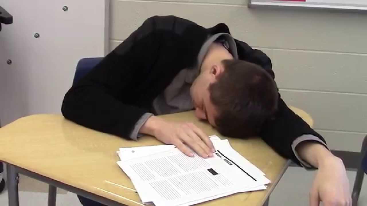 Sleeping In School