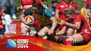 [HIGHLIGHTS] Australia 25-3 Wales at Women