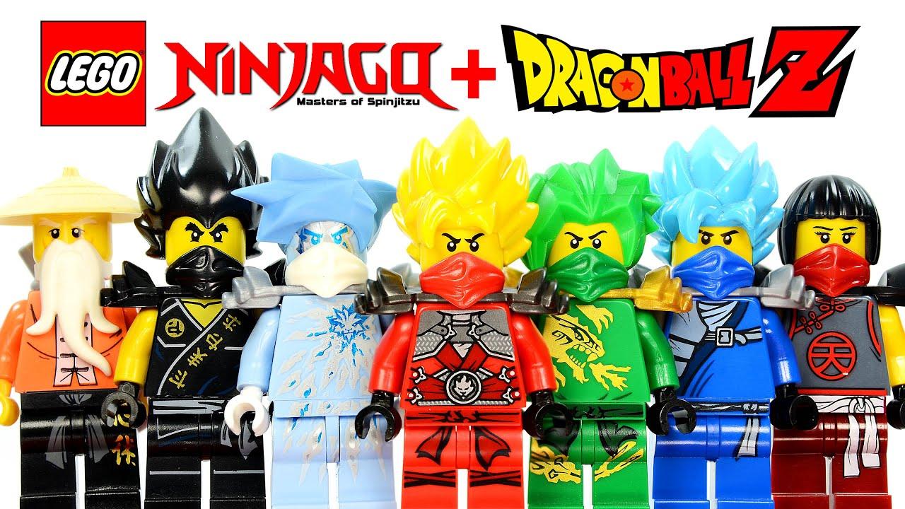 LEGO Ninjago Dragon Ball Z Inspired MOC Project w Super Saiyan