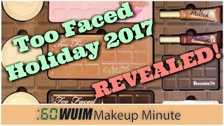 Too Faced HOLIDAY 2017 Big REVEAL! | Makeup Minute