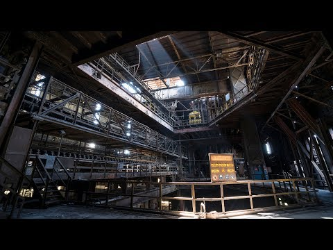 Insanely Huge Abandoned Steel Mill Exploration - Making Our Escape
