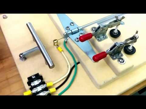 Bird toy acrylic bending jig - Part 1