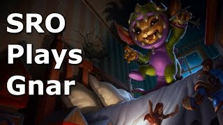 Gnar Top Lane Commentary - Season 6 - League of Legends