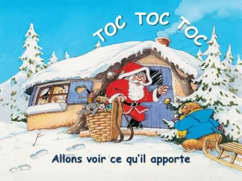 Versini - Les Chansons de Noël - Père Noël frappe à la porte - Miwiboo