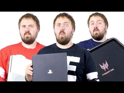 PS4 Slim/Pro vs. Xbox One S vs. Игровой ПК - что выбрать?