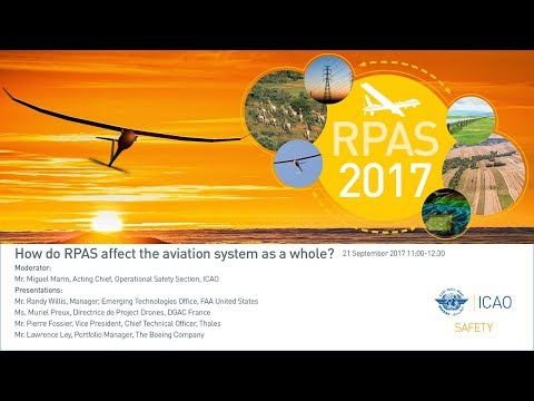 #icaoRPAS How do RPAS affect the aviation system as a whole?