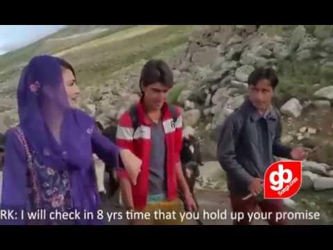 Reham khan on Deosai Gilgit Baltistan || GB Songs 2017