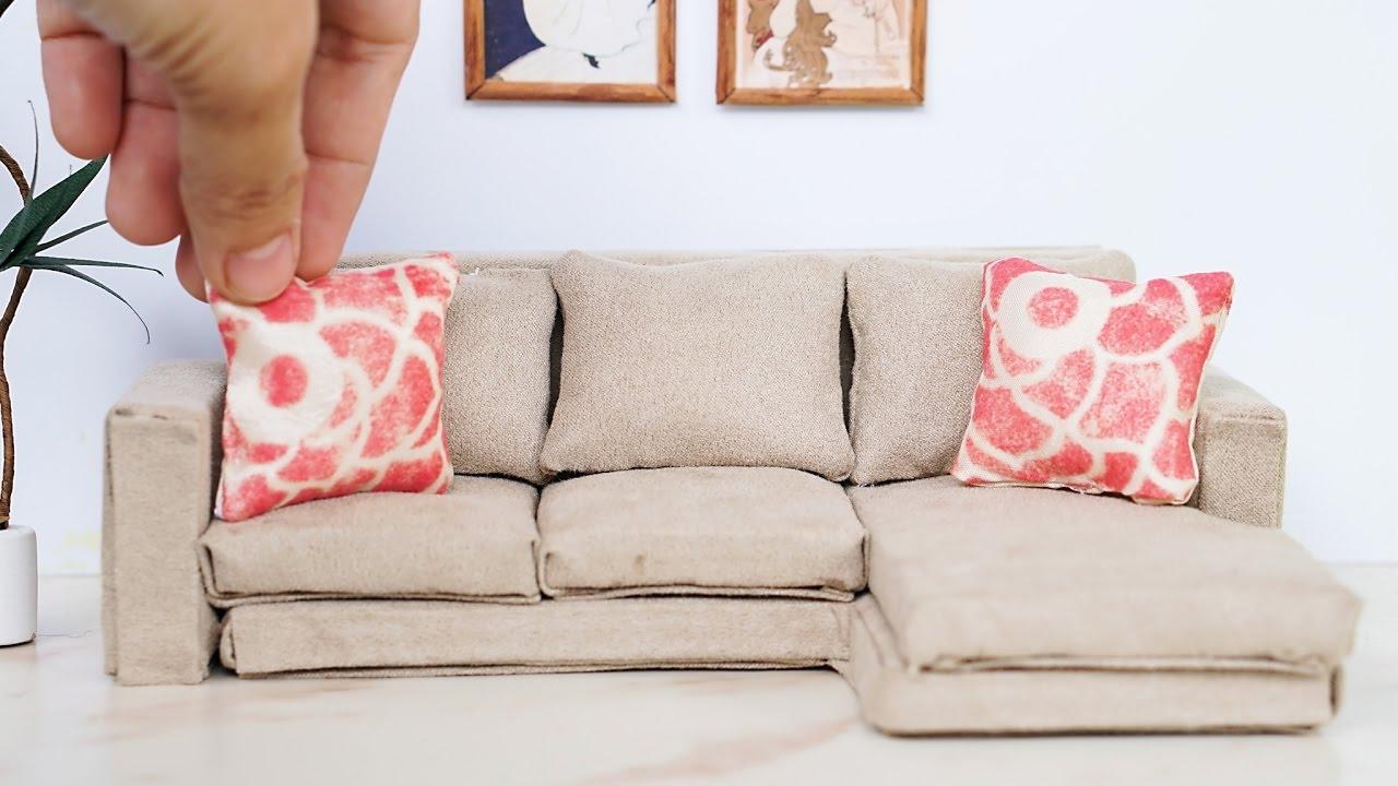 18 doll sofa diy sofas that come apart uk dollhouse miniature modern tutorial dolls nendoroid lps