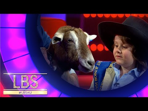 Learn How To Milk A Goat From Our Little Big Shot Torino | Little Big Shots Aus