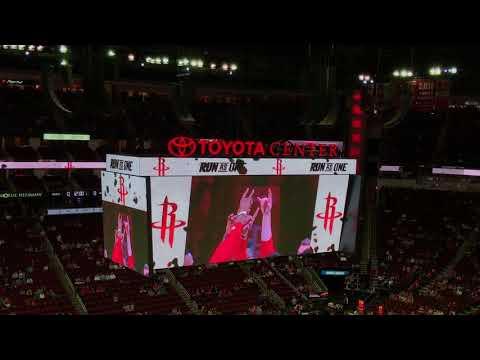Houston Rockets 2017-2018 Intro (vs. Portland Trail Blazers)