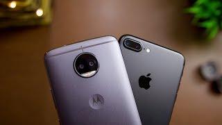 Moto G5S Plus vs iPhone 7 Plus Camera Comparison