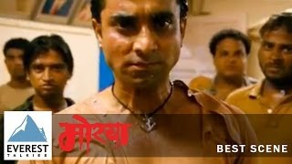 Best Fight Scene | Morya - Marathi Movie | Chinamy Mandlekar, Santosh Juvekar