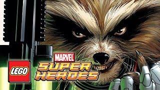 LEGO Marvel Superheroes: ROCKET RACCOON Gameplay