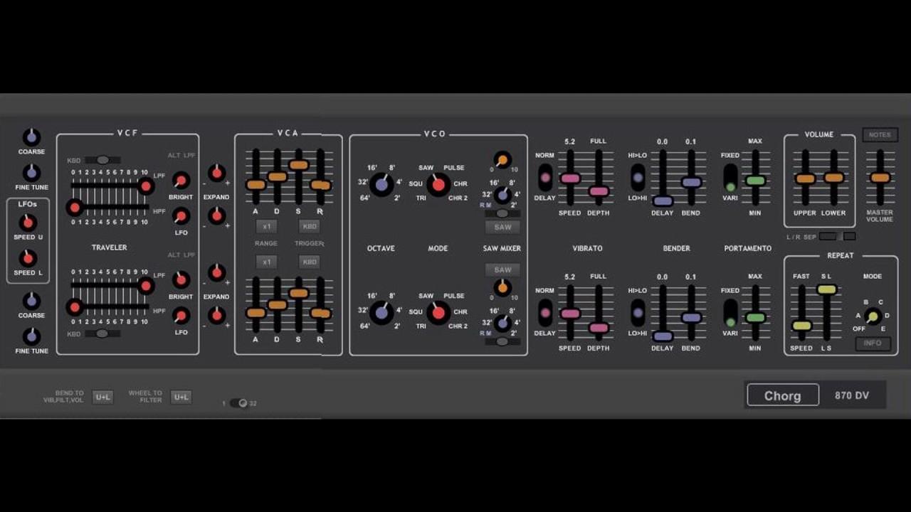 Synthesizers - KORG Maxi-Korg 800DV
