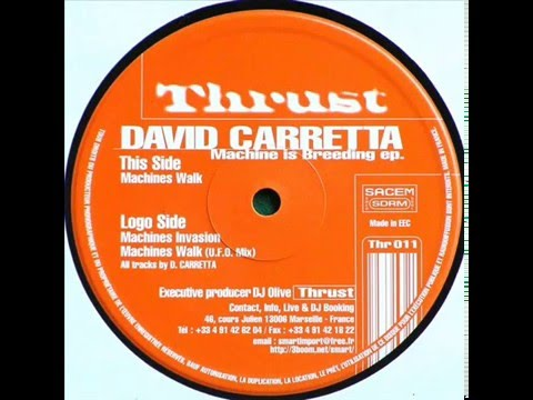 David Carretta - Machines Invasion (Original Mix) mp3