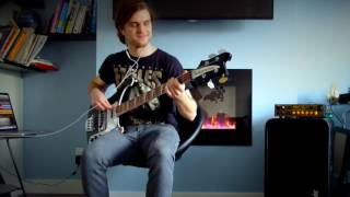 Hello, this is a cover of Californication by Red Hot Chili Peppers....