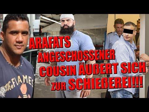 ANGESCHOSSEN!: Arafats Cousin äußert sich zur Schießerei mit Hamad 45!!!